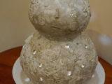 雪だるまのランプシェード